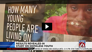 Study: Almost 300 Central Florida youths are homeless