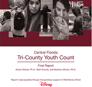 Central Florida Tri-County Youth Count Report (2018)