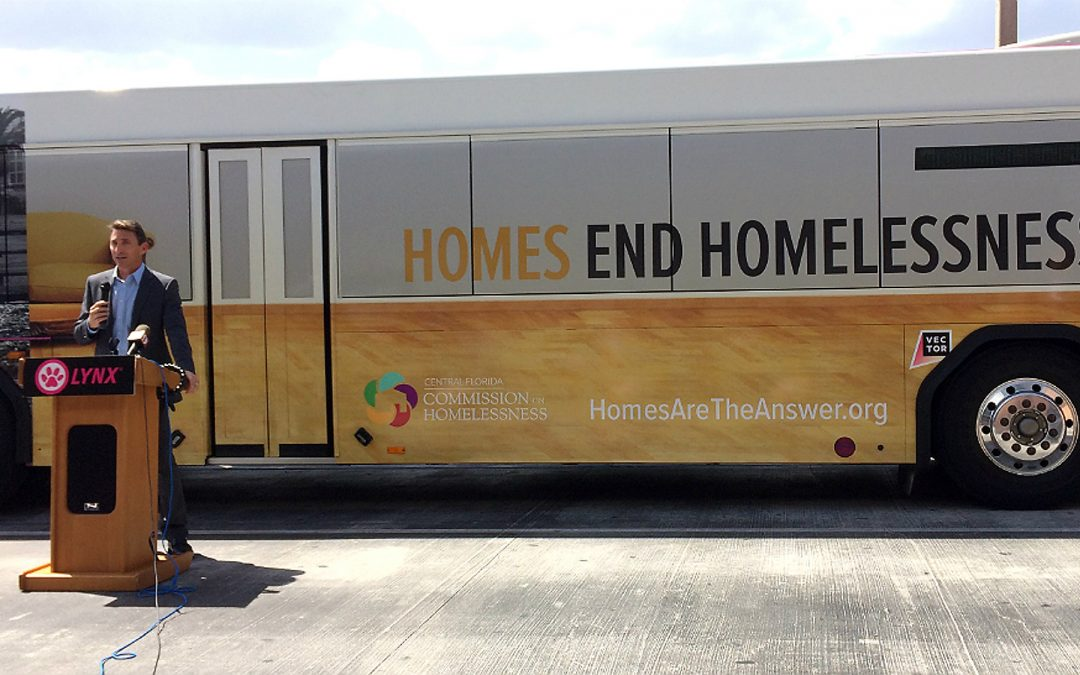 Orlando-area Com­mission: 'Housing First' ini­tiative to combat home­lessness a success